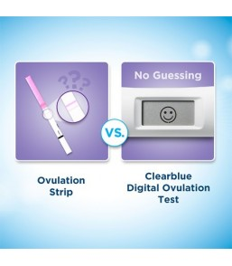 Clearblue Advanced Digital Ψηφιακό Τεστ Ωορρηξίας με δείκτη δύο ορμονών 10 Τεμ.