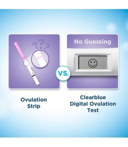 Clearblue Advanced Digital Ψηφιακό Τεστ Ωορρηξίας με δείκτη δύο ορμονών 10 Τεμ.