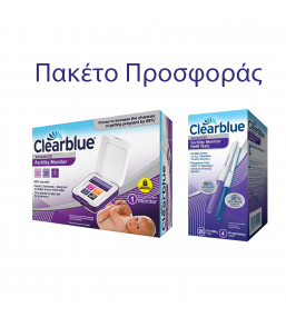 Clearblue Advanced Μόνιτορ Ωορρηξίας με Touch Screen